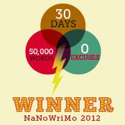 NaNo 2012 Winner Big