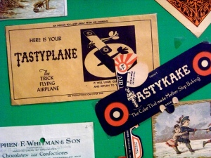 Tastykakes and Airplanes are a venerable and vintage combo