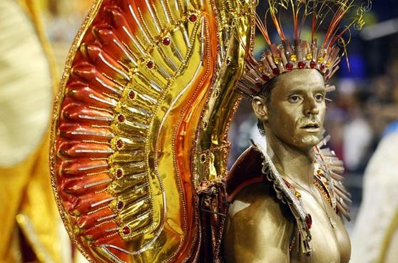 Gold Guy carnival